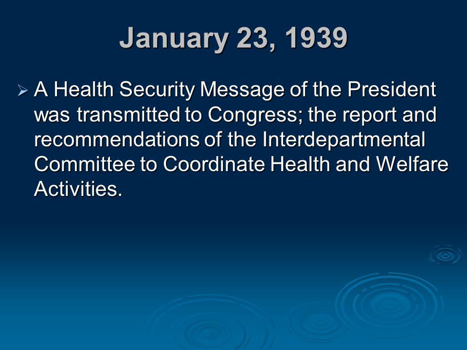 January 23, 1939