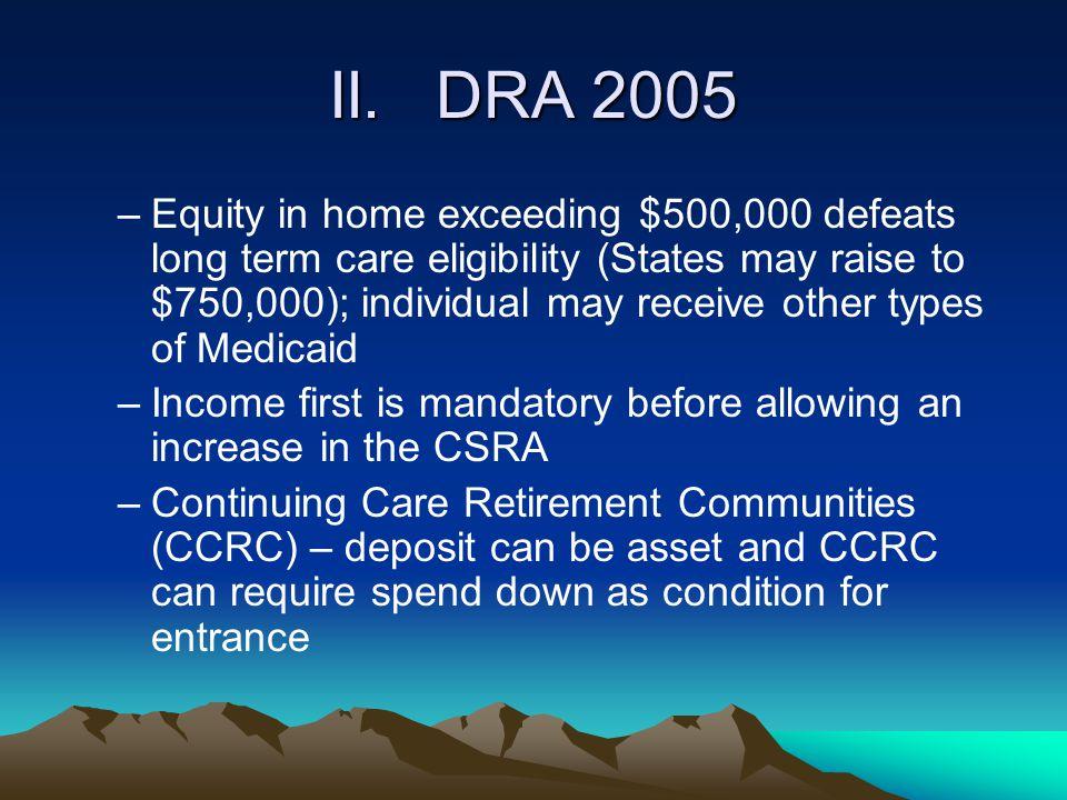 II. DRA 2005