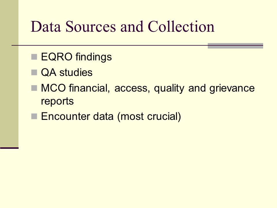 Data Sources and Collection