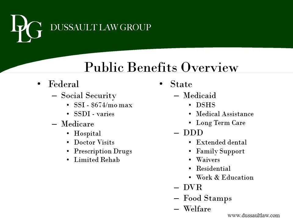 Public Benefits Overview