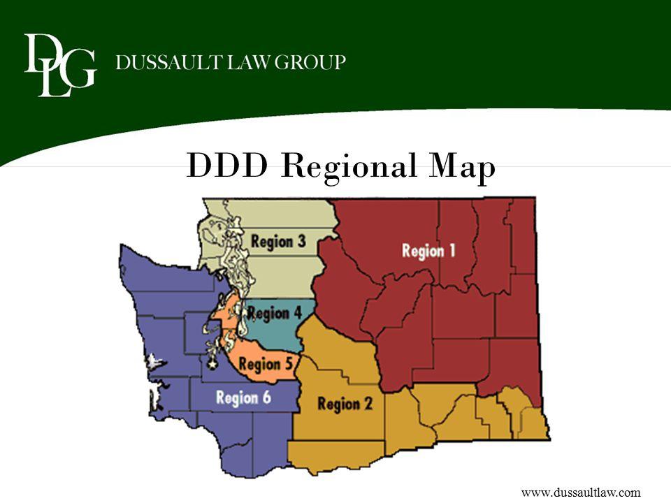 DDD Regional Map www.dussaultlaw.com