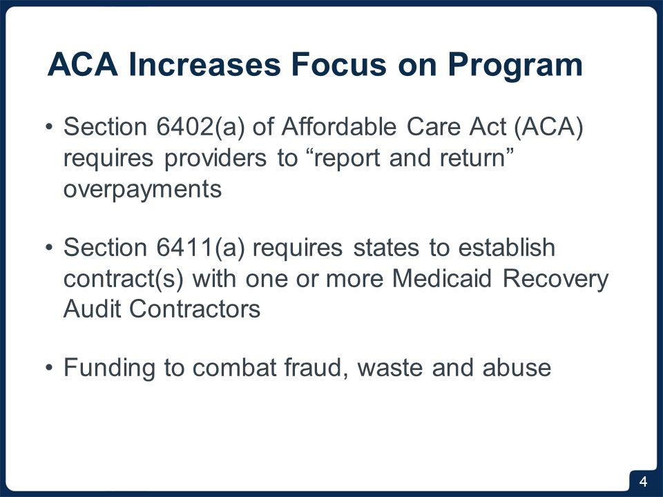 NY Medicaid RAC Program