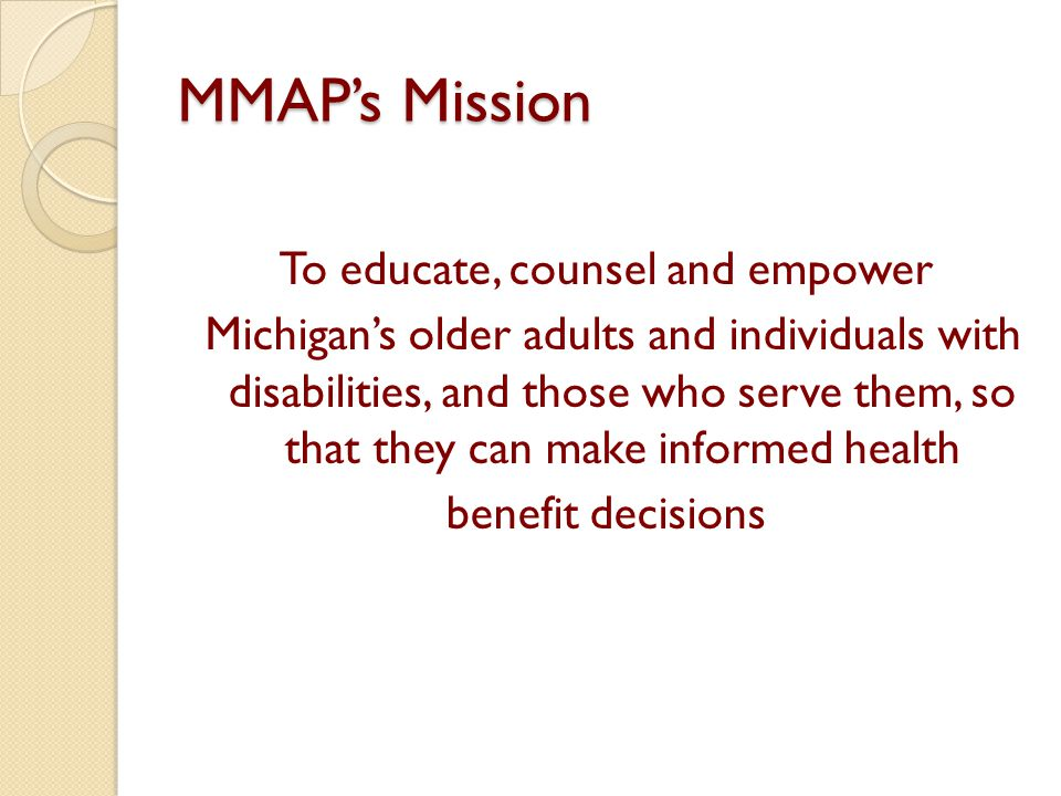 MMAP's Mission