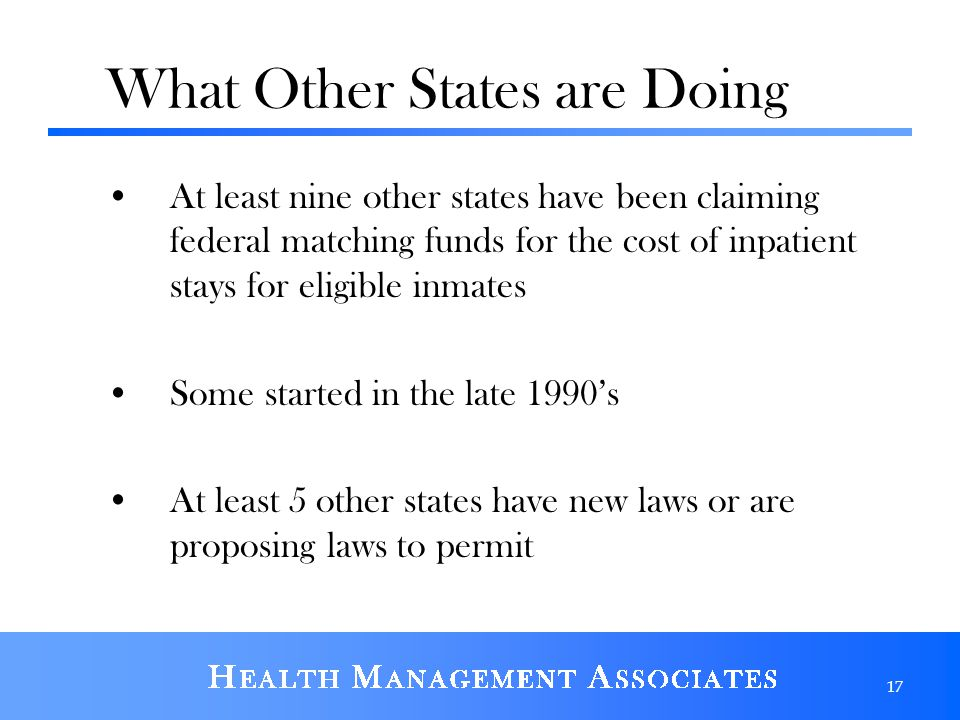 What Other States are Doing