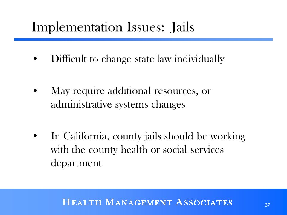 Implementation Issues: Jails