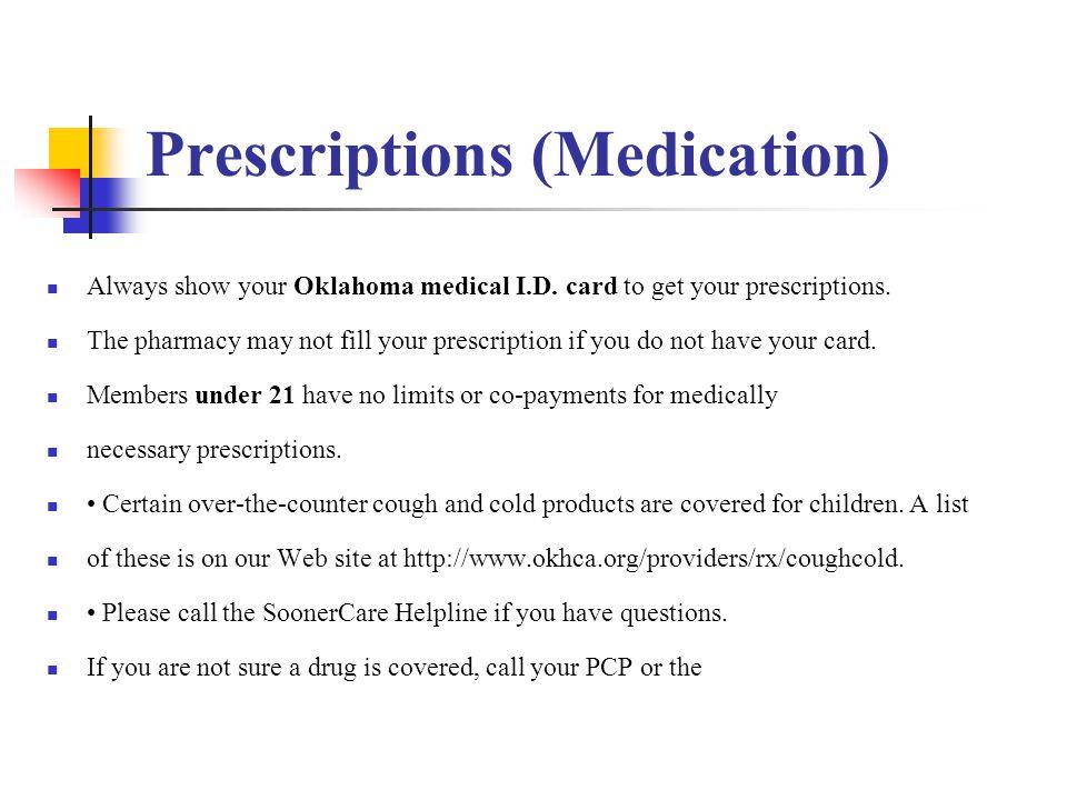 Prescriptions (Medication)