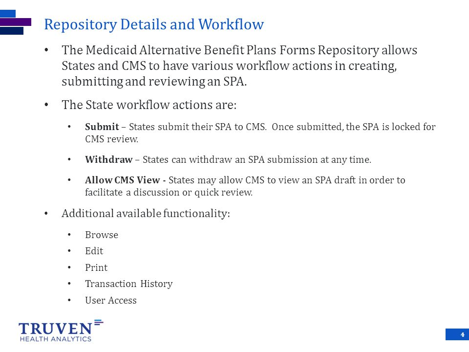 Repository Details and Workflow