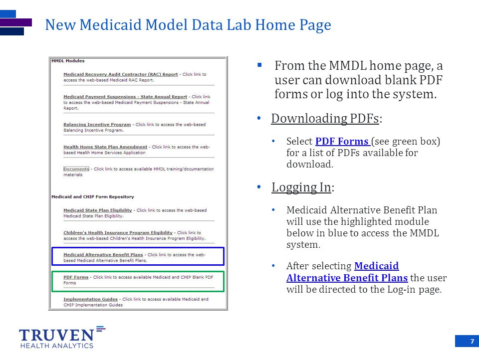 New Medicaid Model Data Lab Home Page