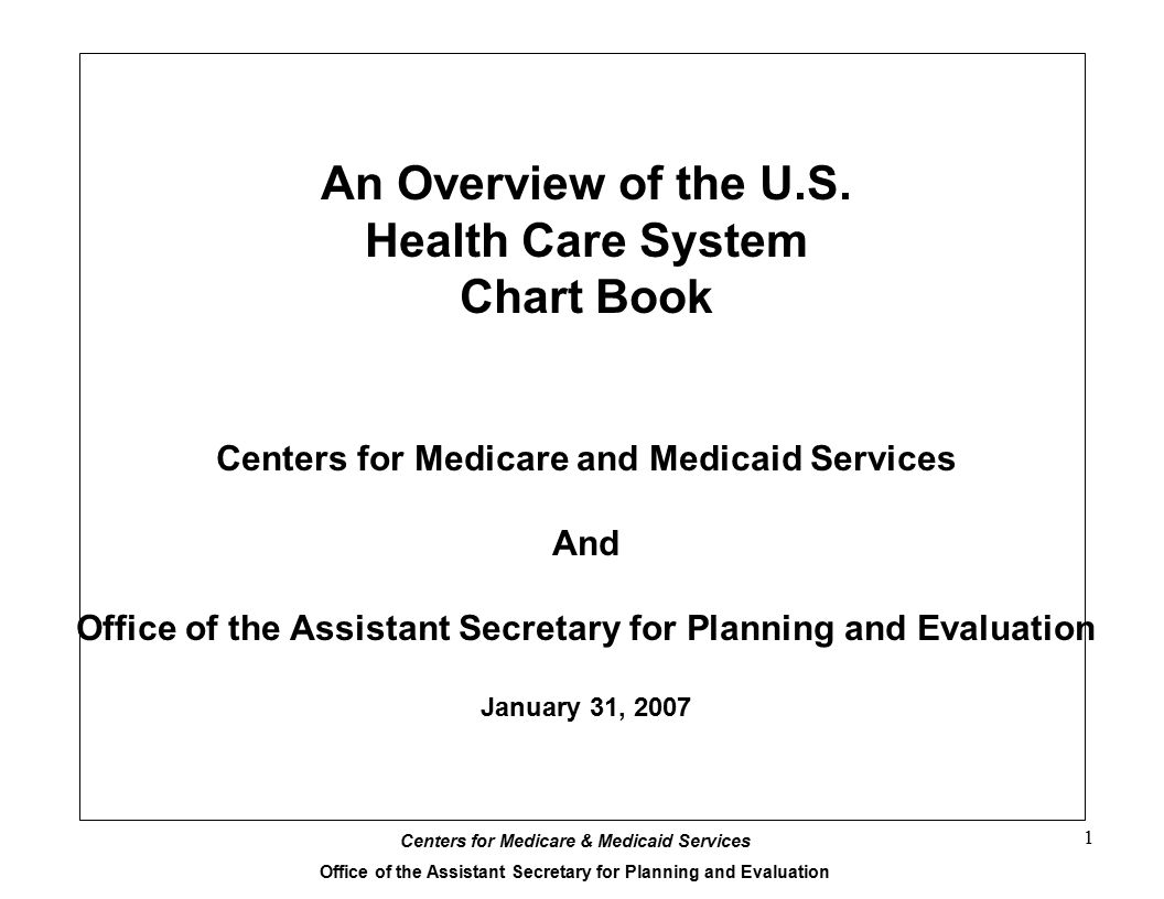 An Overview of the U.S. Health Care System Chart Book