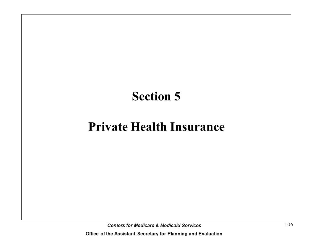 Section 5 Private Health Insurance