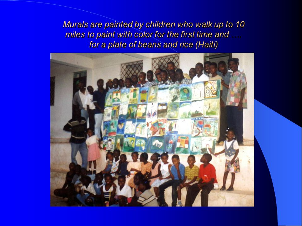 for a plate of beans and rice (Haiti)