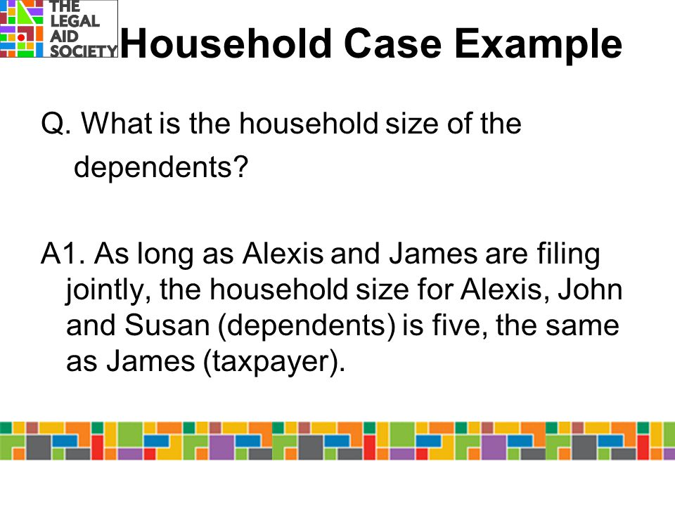 Household Case Example