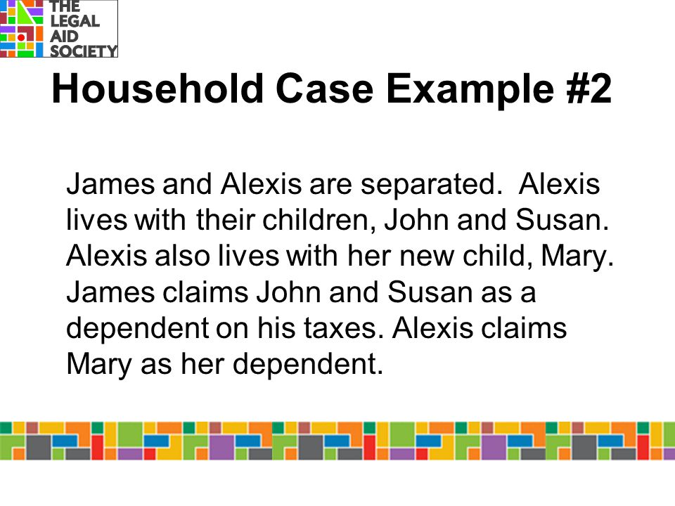 Household Case Example #2