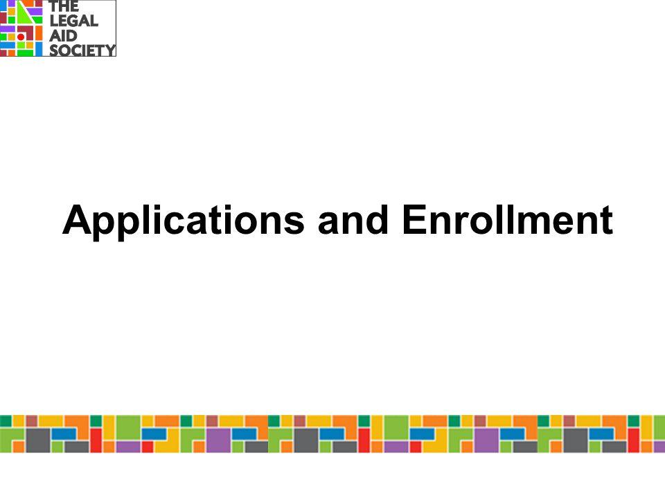 Applications and Enrollment