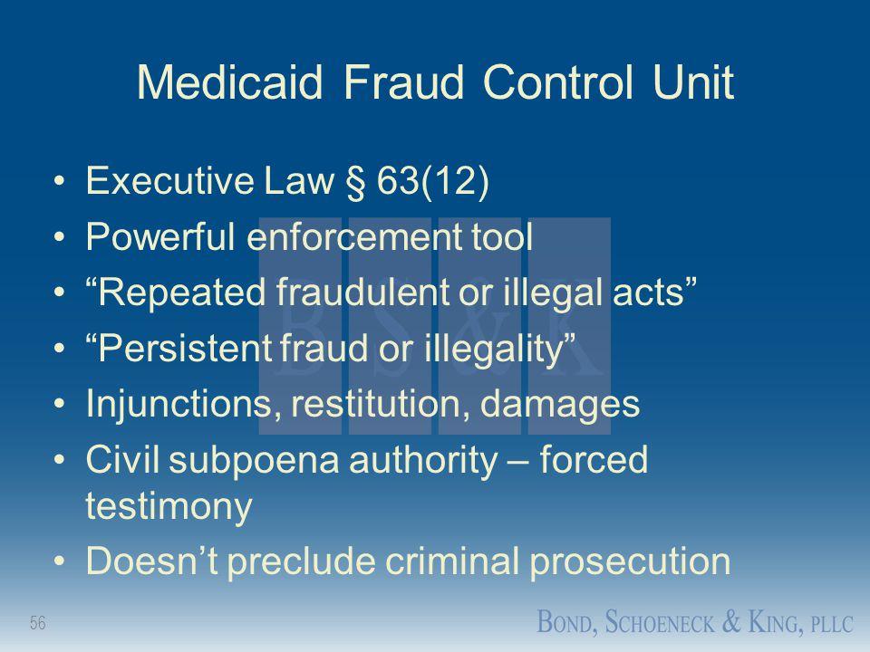Medicaid Fraud Control Unit