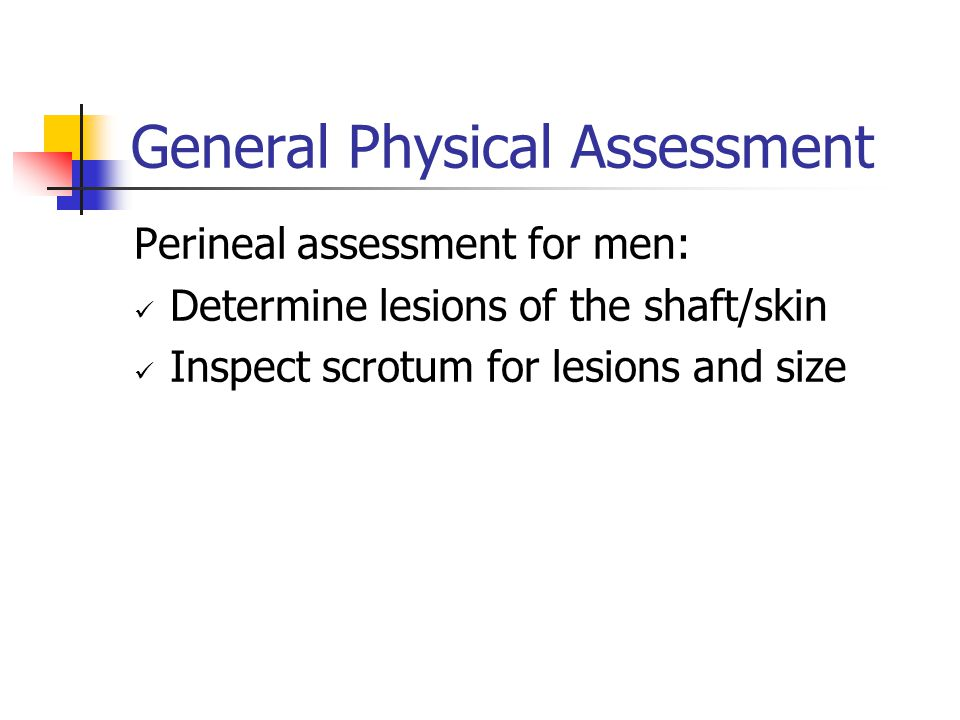General Physical Assessment