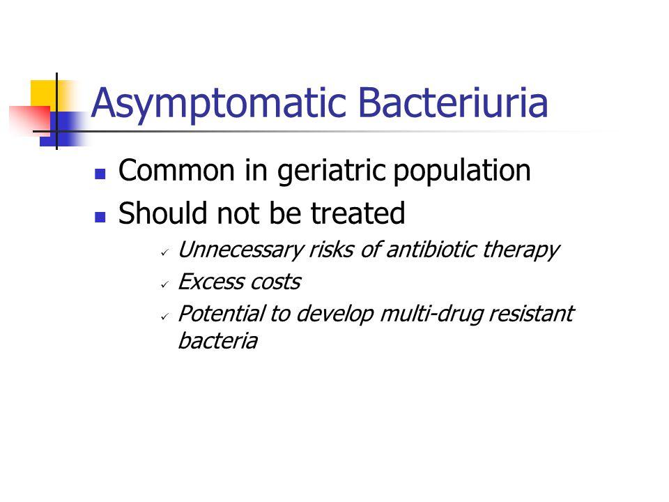 Asymptomatic Bacteriuria