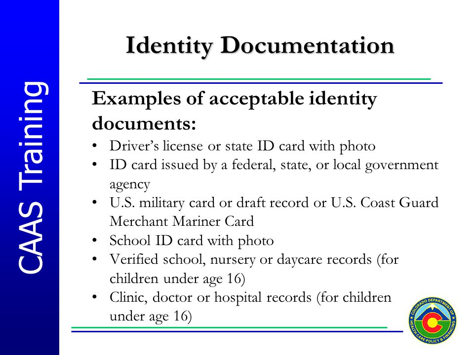 Identity Documentation