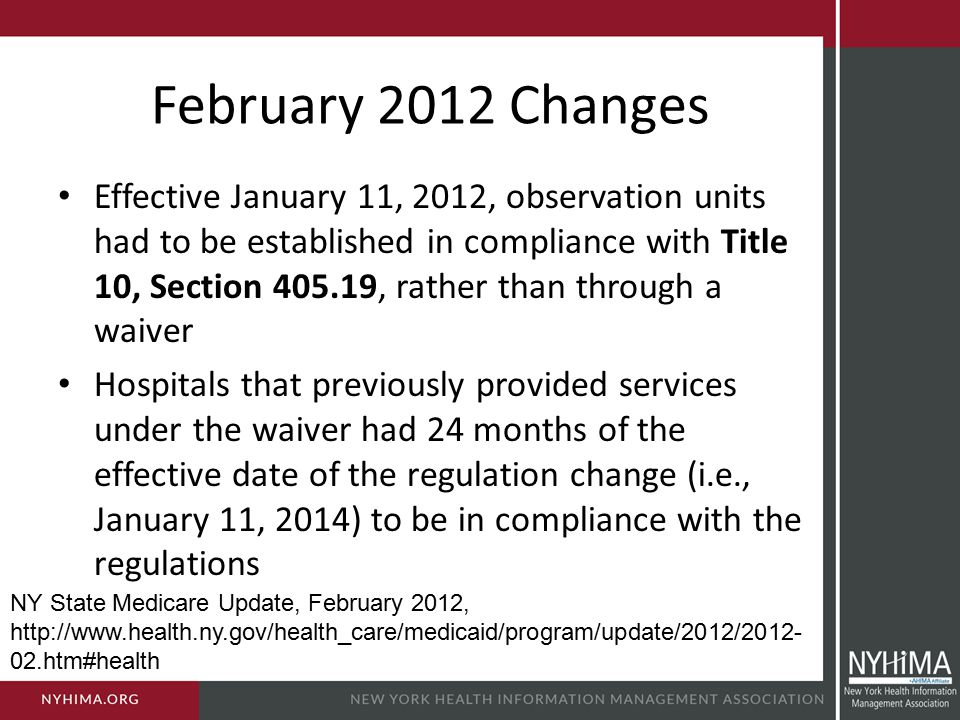 February 2012 Changes