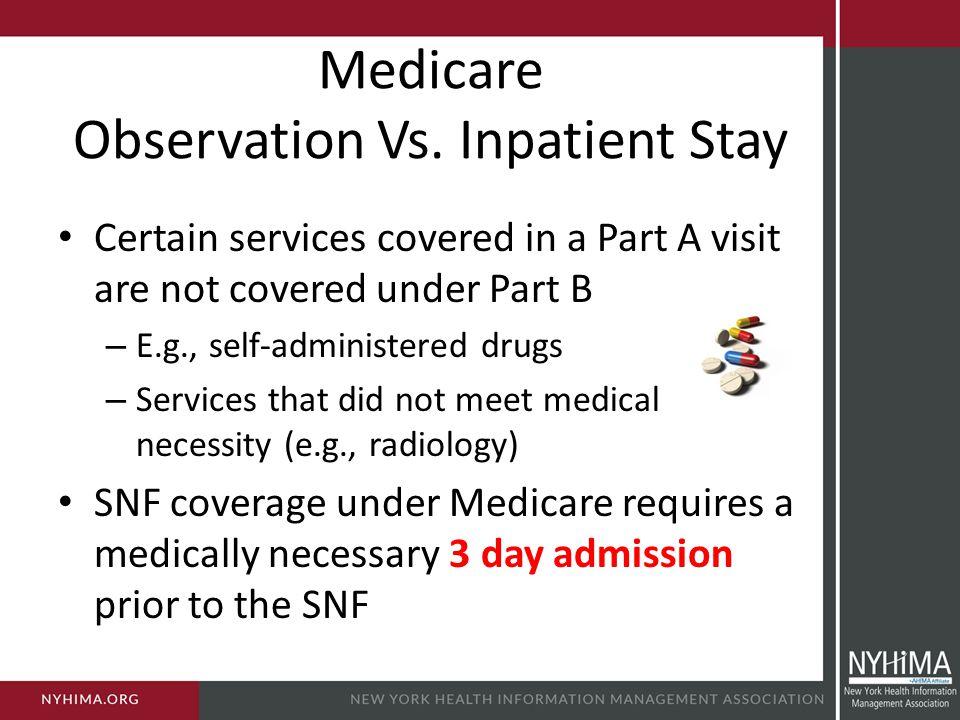 Medicare Observation Vs. Inpatient Stay