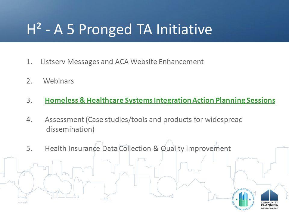 H² - A 5 Pronged TA Initiative