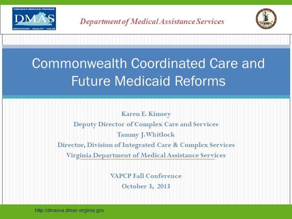 Commonwealth Coordinated Care and Future Medicaid Reforms