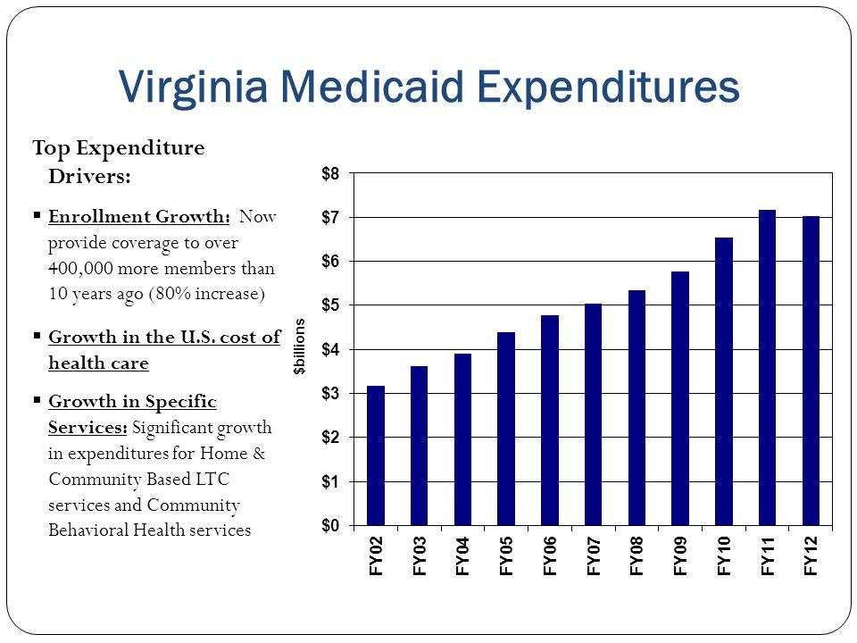Virginia Medicaid Expenditures
