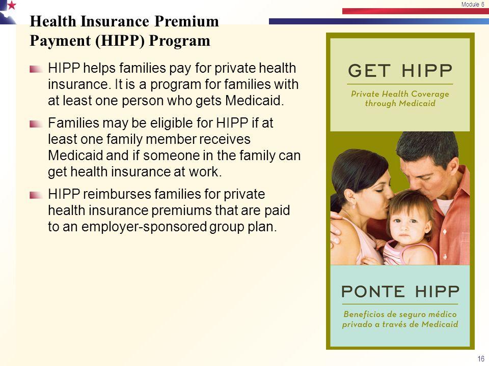 Health Insurance Premium Payment (HIPP) Program