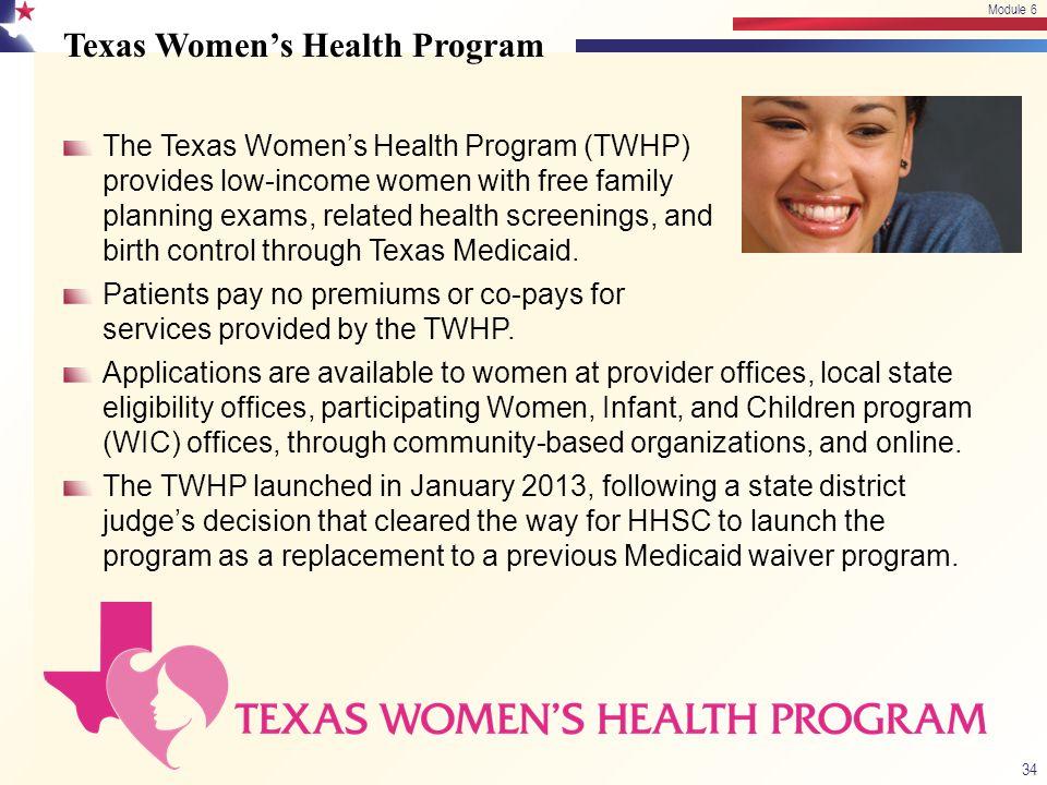 Texas Women's Health Program