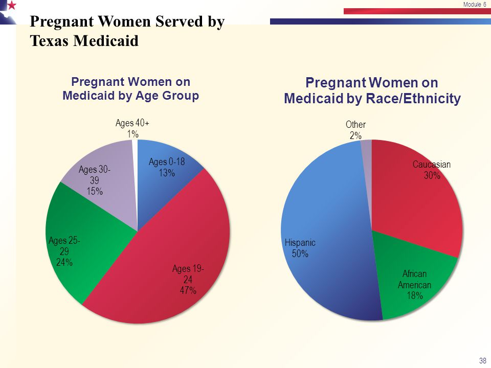 Pregnant Women Served by Texas Medicaid