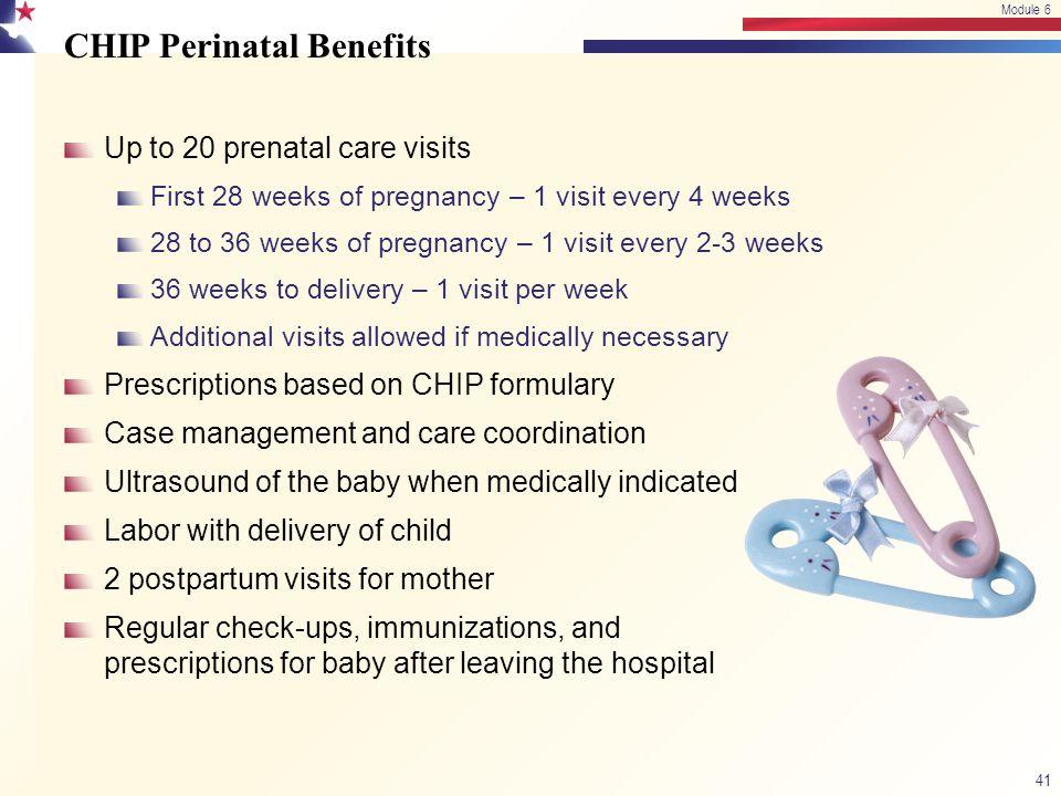 CHIP Perinatal Benefits