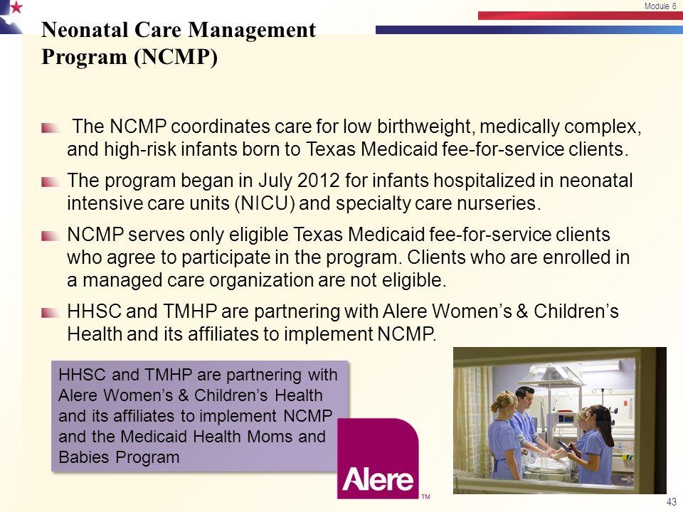 Neonatal Care Management Program (NCMP)
