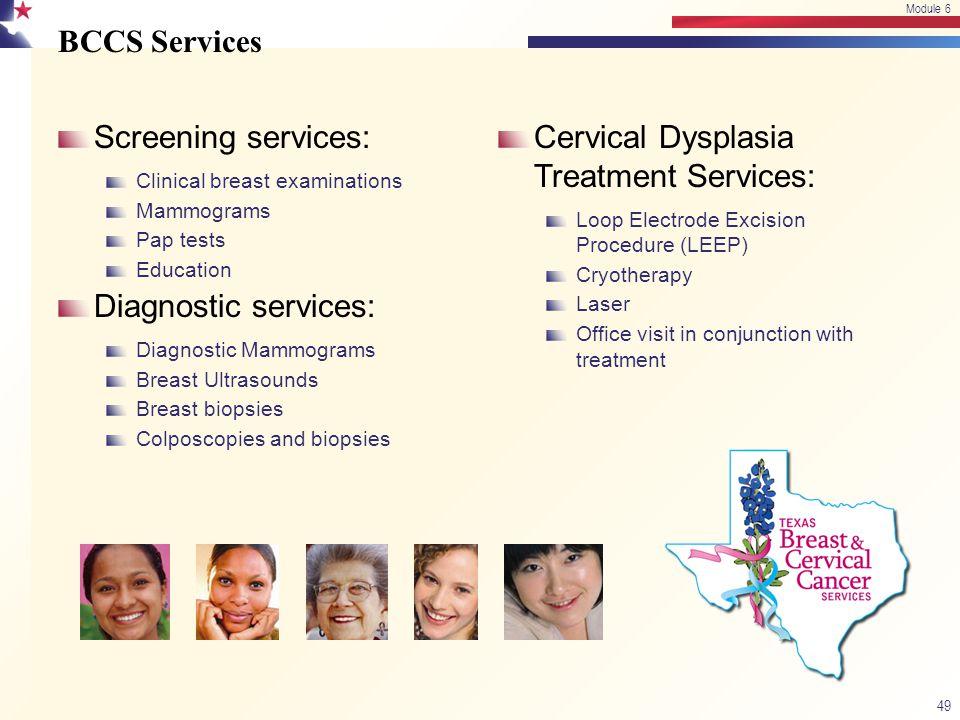 Cervical Dysplasia Treatment Services: