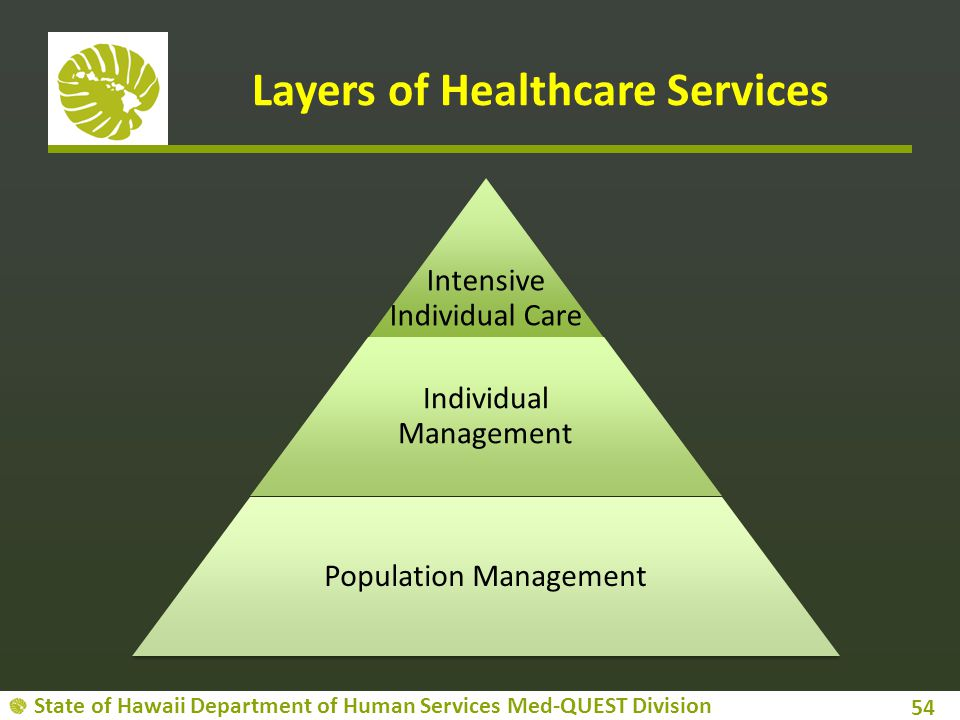 Layers of Healthcare Services