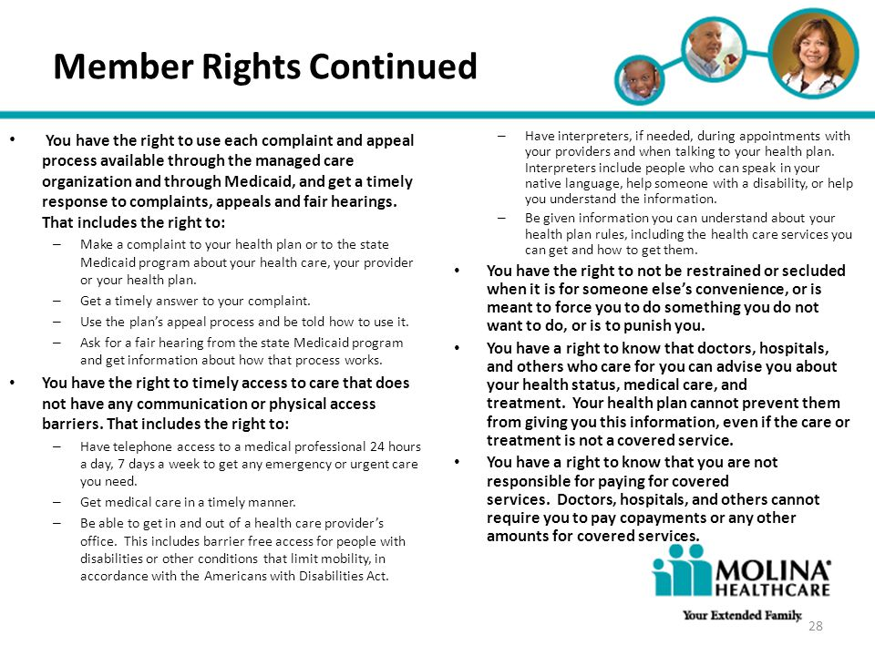 Member Rights Continued
