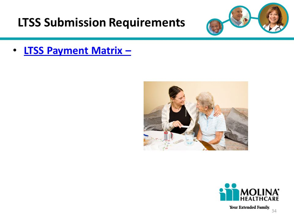 LTSS Submission Requirements