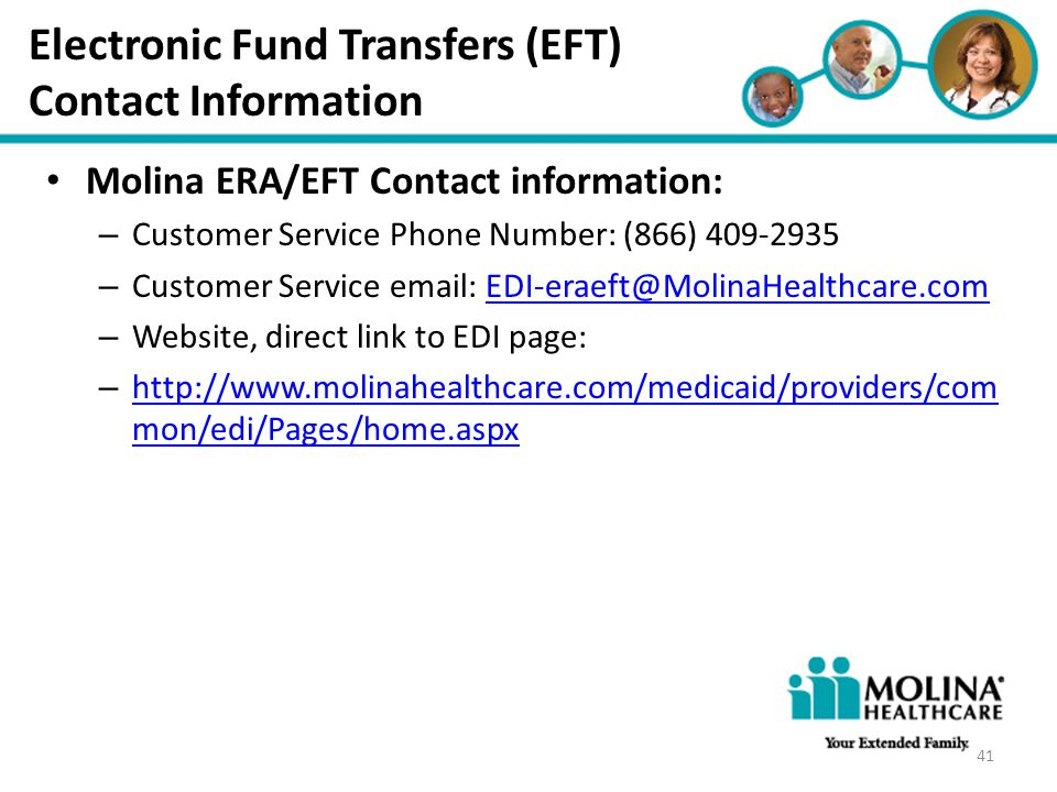 Electronic Fund Transfers (EFT)