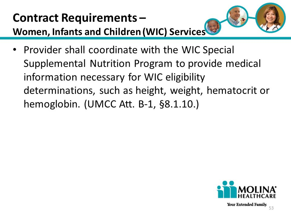 Contract Requirements –