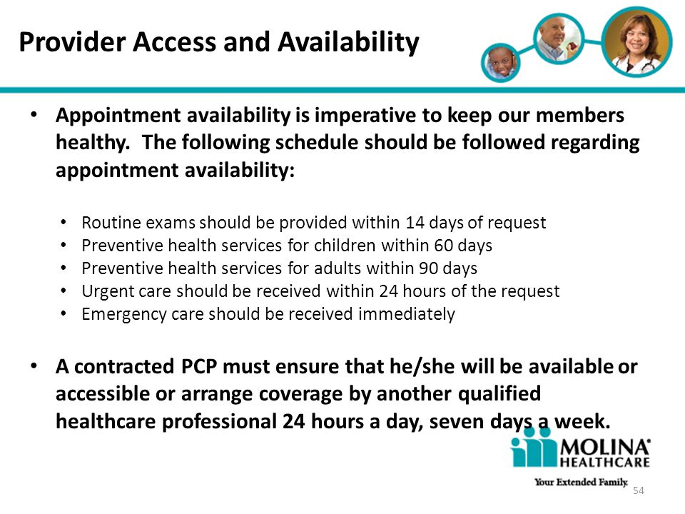Provider Access and Availability