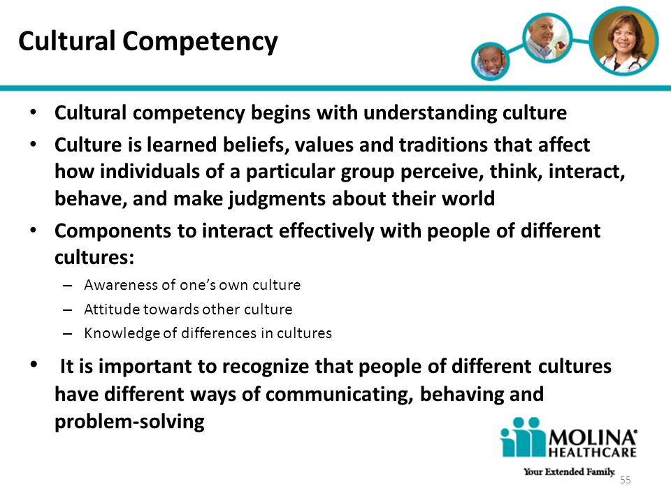 Cultural Competency Headline Goes Here. Cultural competency begins with understanding culture.