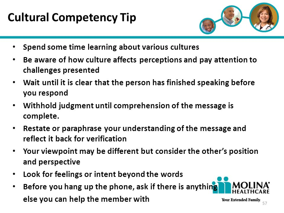 Cultural Competency Tip