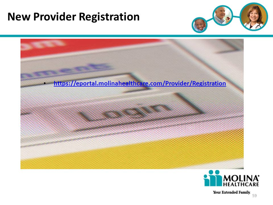 https://eportal.molinahealthcare.com/Provider/Registration