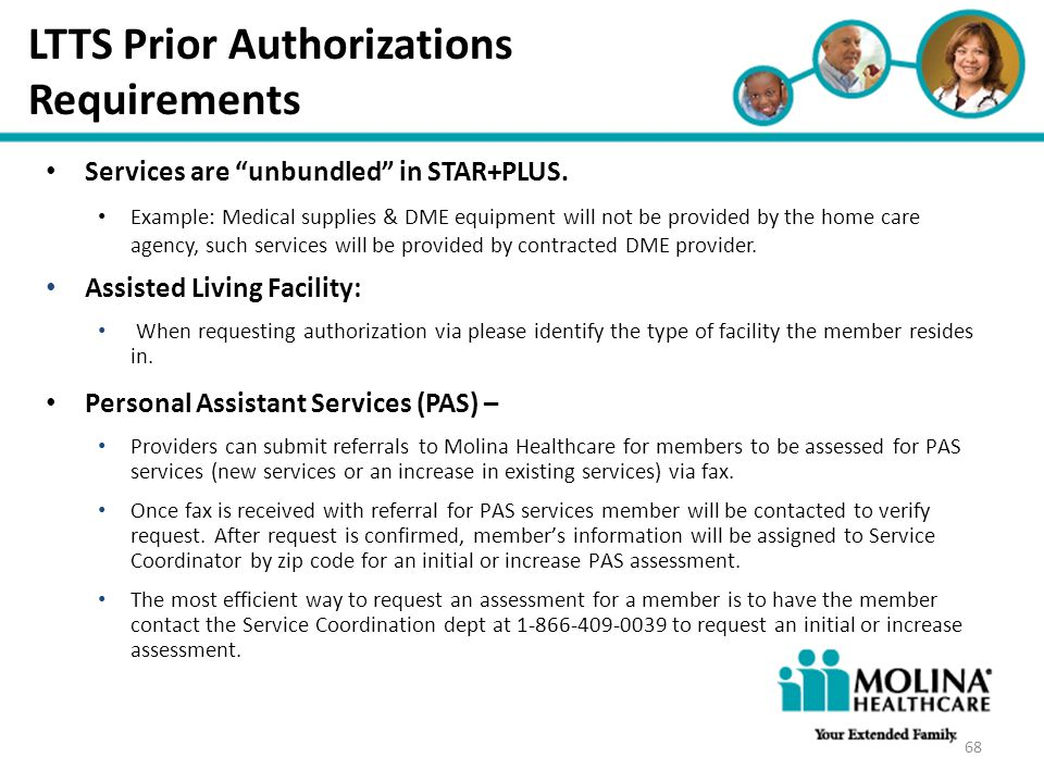 LTTS Prior Authorizations Requirements