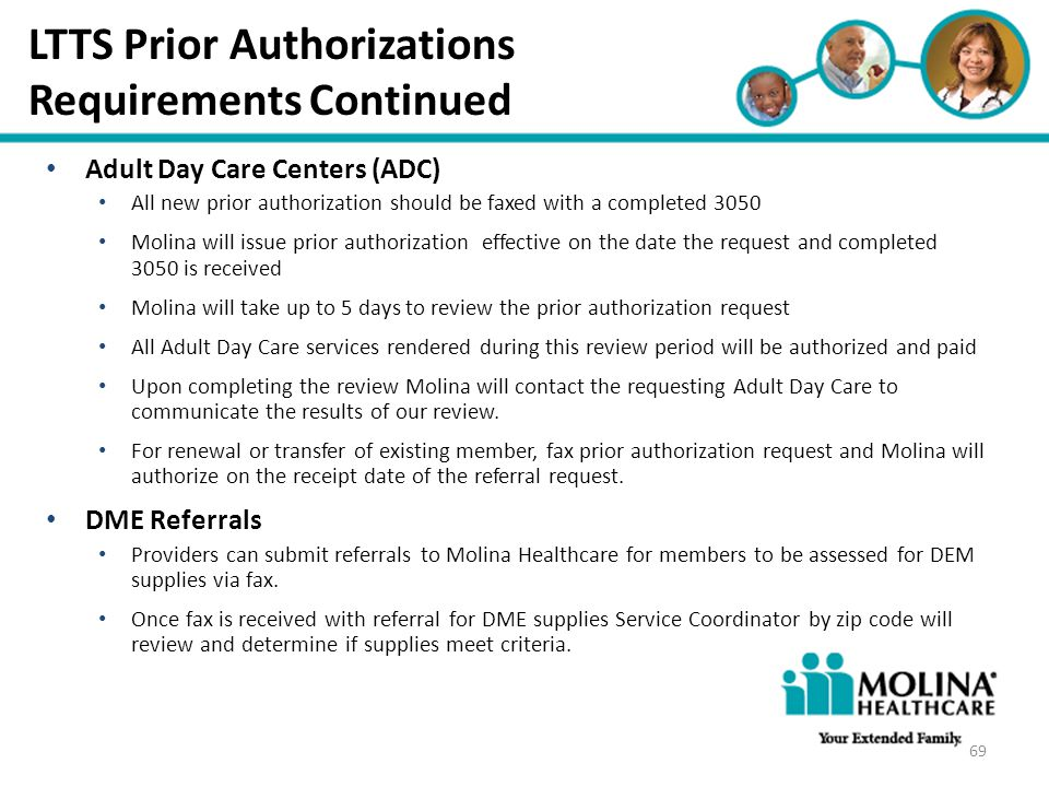 LTTS Prior Authorizations Requirements Continued