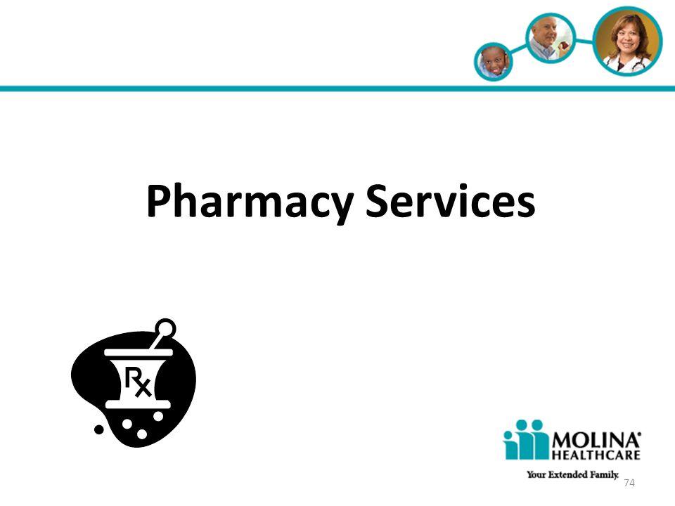 Headline Goes Here • Item 1 • Item 2 • Item 3 Pharmacy Services