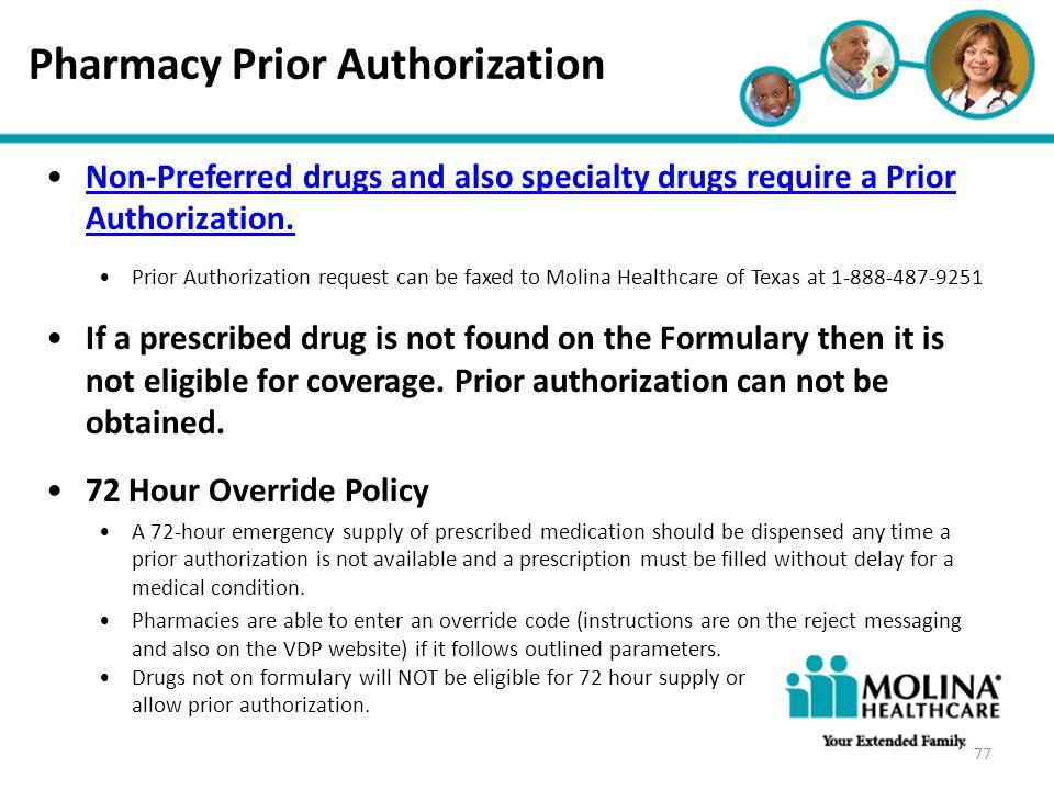 Pharmacy Prior Authorization