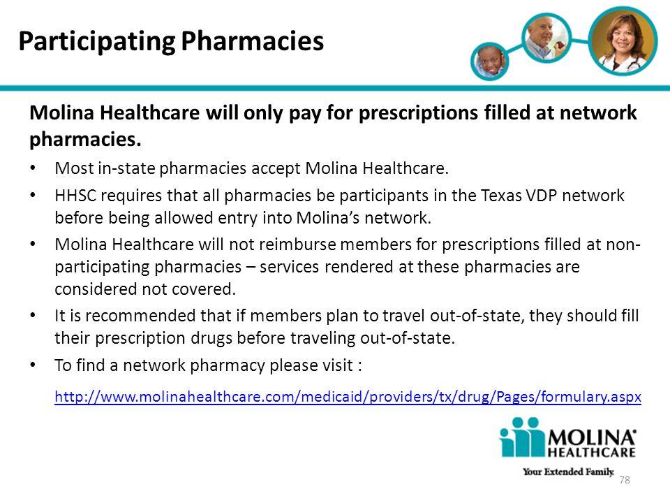 Participating Pharmacies