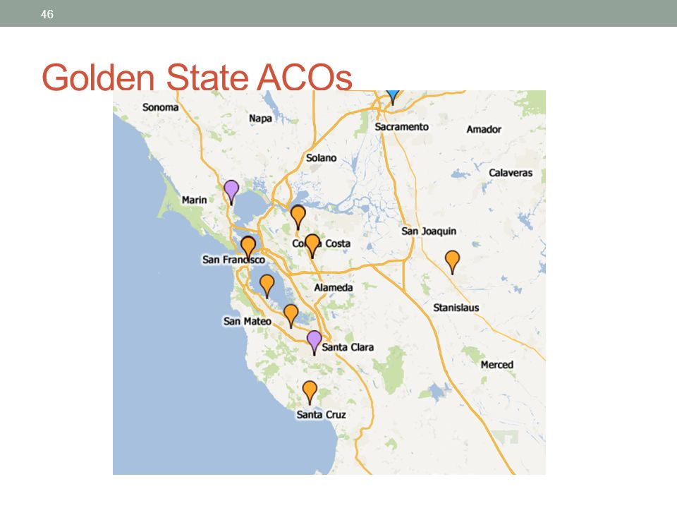 Golden State ACOs
