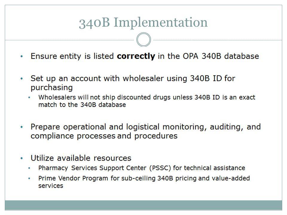 340B Implementation