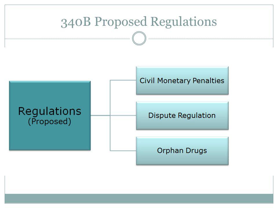 340B Proposed Regulations
